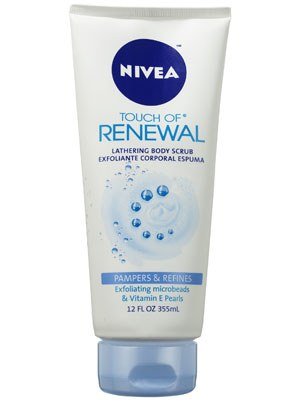 Nivea Touch of Renewal Lathering Body Scrub